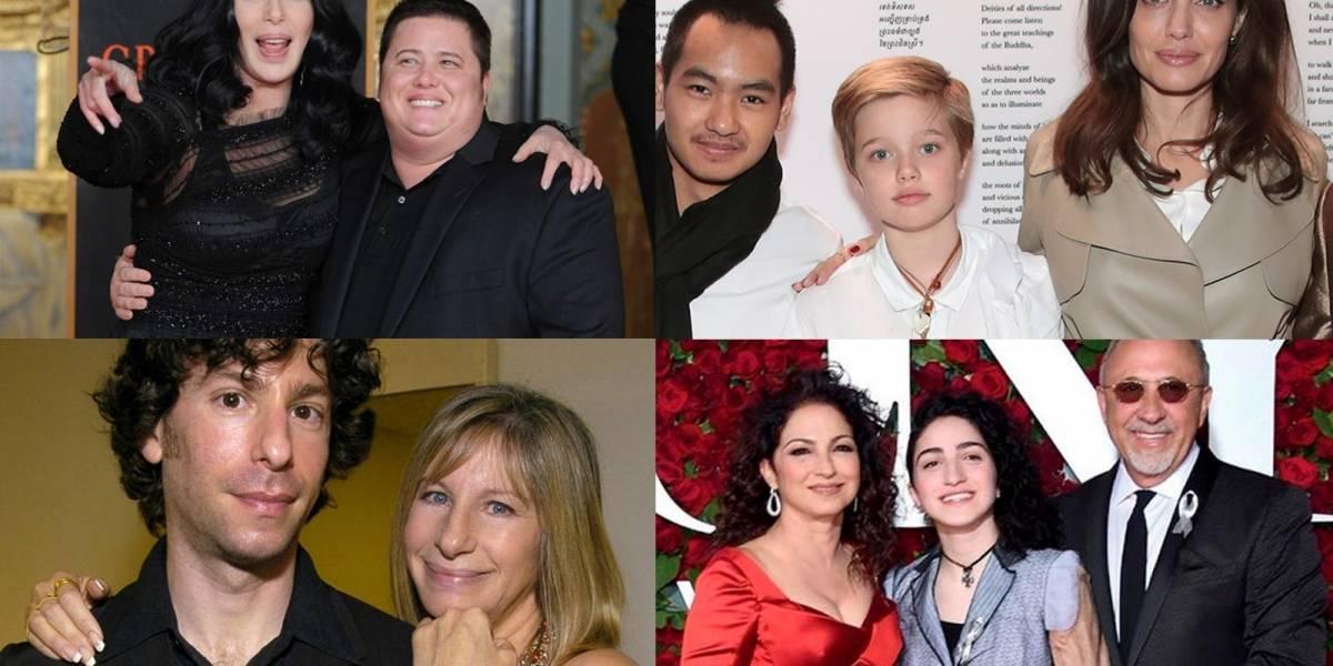 Diez celebridades que asumieron brillantemente el rol de ser padres de hijos homosexuales