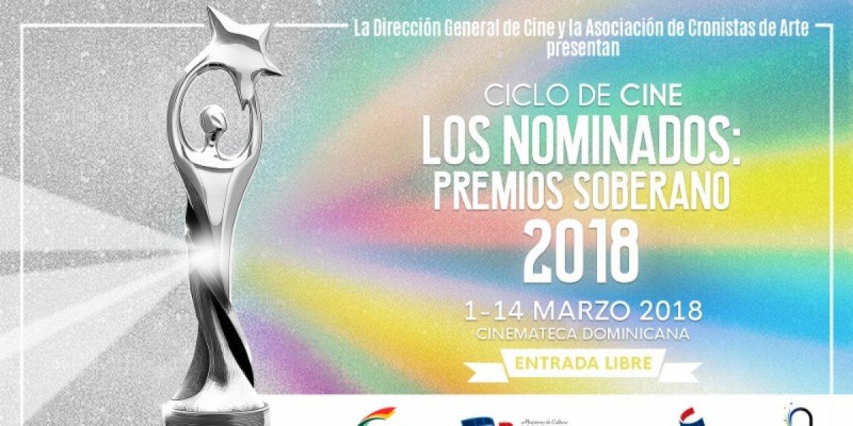 """Ciclo de cine """"Los Nominados: Premios Soberano 2018"""""""