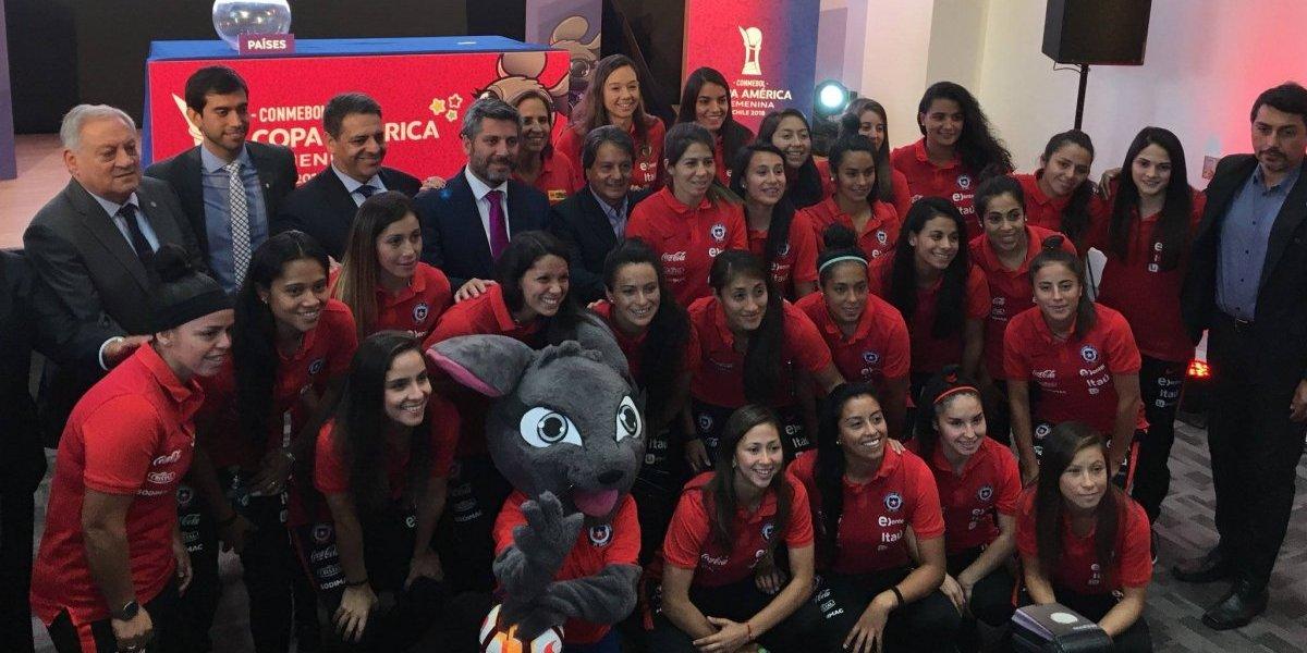La Roja evita a Brasil y Argentina: los grupos de la Copa América Femenina que se jugará en Chile