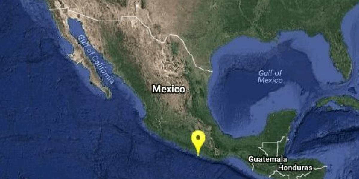 Se registra sismo de magnitud 5 en las costas de Guerrero