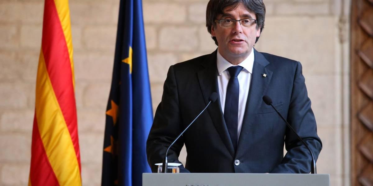 Puigdemont renuncia 'provisionalmente' a ser candidato para presidir Cataluña