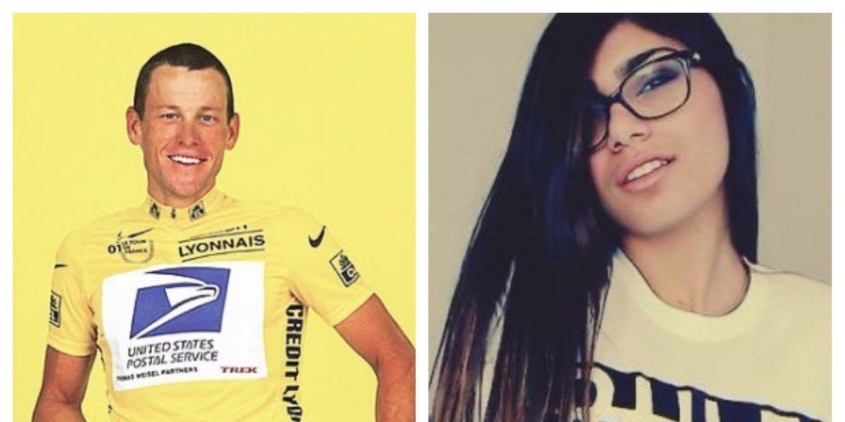 Mia Khalifa revela íntimos secretos de Lance Armstrong