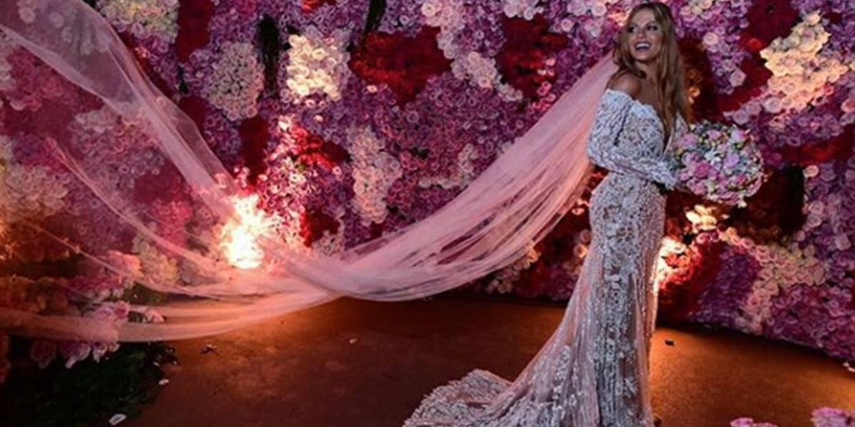 Vestido de noiva de Luísa Sonza pesava 45 quilos; look completo custou R$ 165 mil