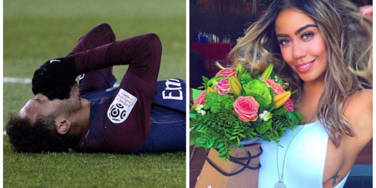Memes de Neymar se pasan llevando a su hermana por su cumpleaños
