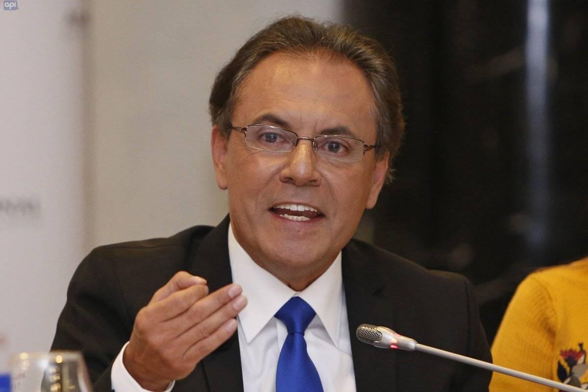 Superintendente de Información y Comunicación Carlos Ochoa.