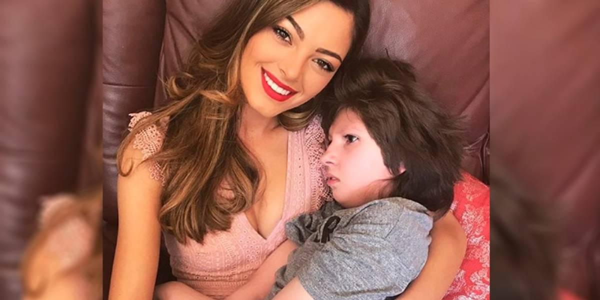Miss Universo celebra cumpleaños de su hermana con discapacidad