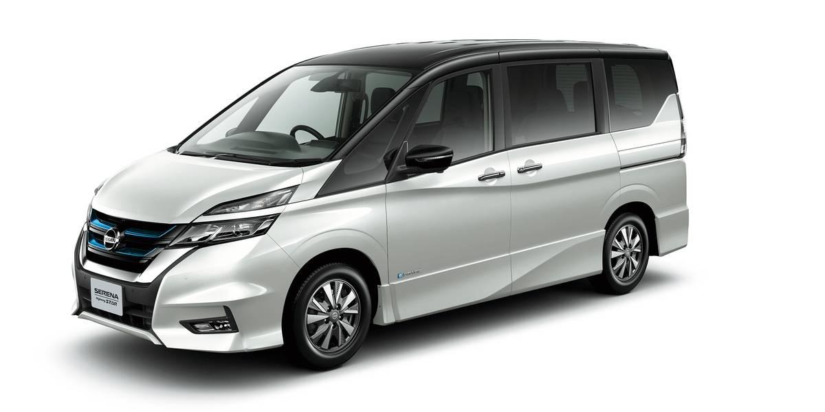 En Japón, Nissan comienza la venta del familiar Serena e-Power