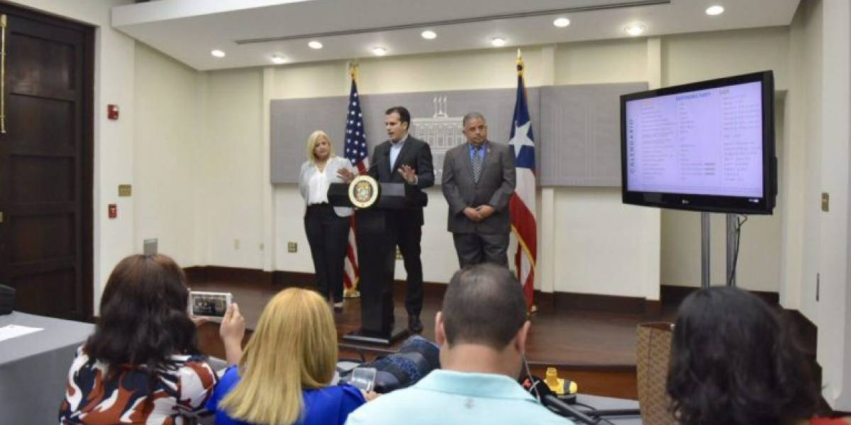Gobernador anuncia entidades que participarán en proceso de RFP