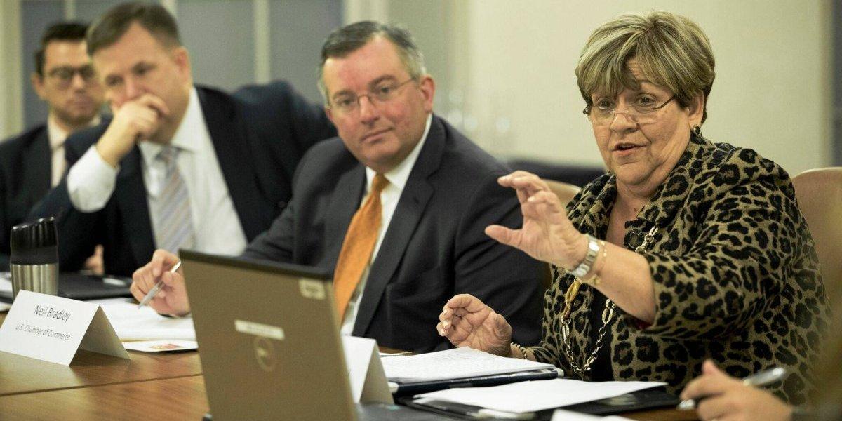 """""""Mayita"""" pugna en Washington por agenda desarrollo económico para Ponce"""