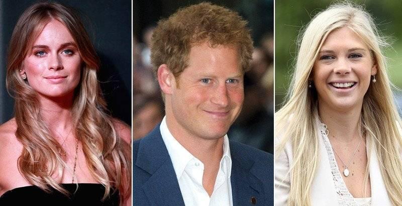 Príncipe Harry y exnovias