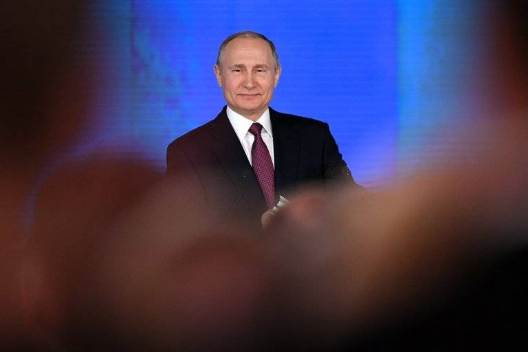 Discurso de Vladimir Putin sobre el estado de la nación