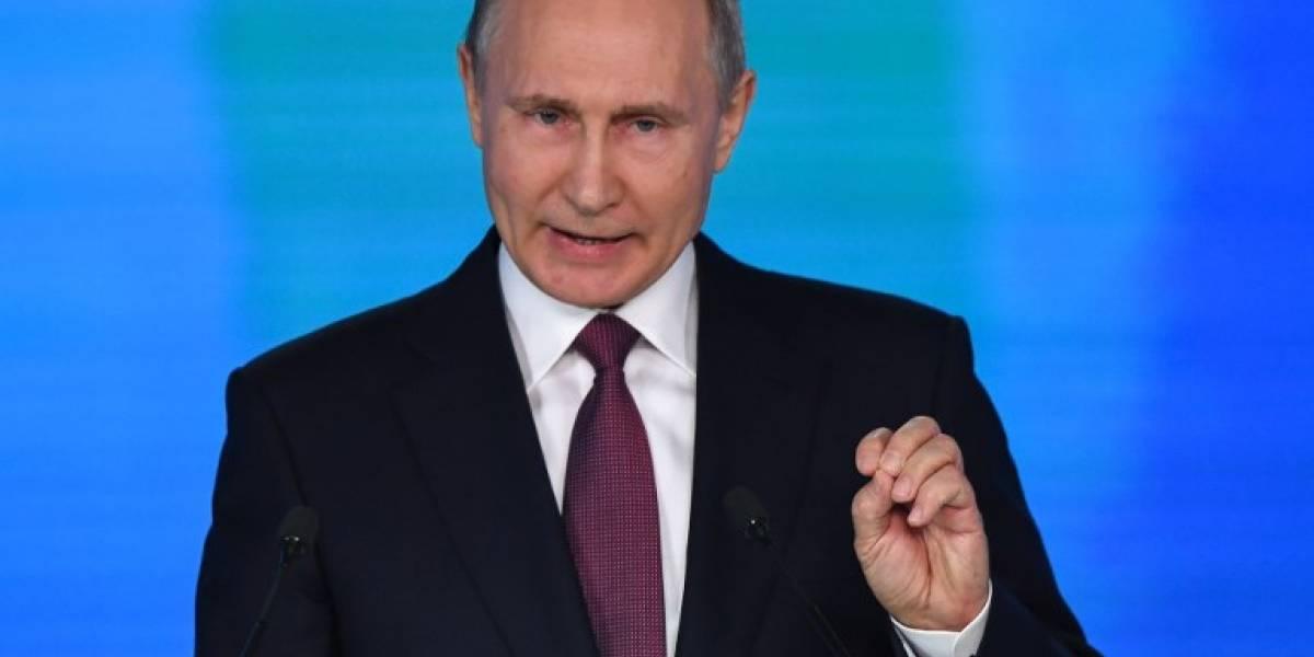 Putin promete mejorar la calidad de vida de los rusos