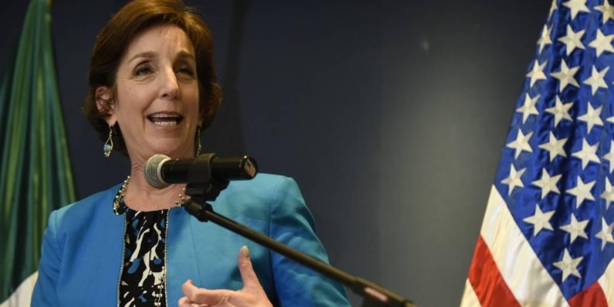 Roberta Jacobson renunciacomo embajadora de Estados Unidos en México