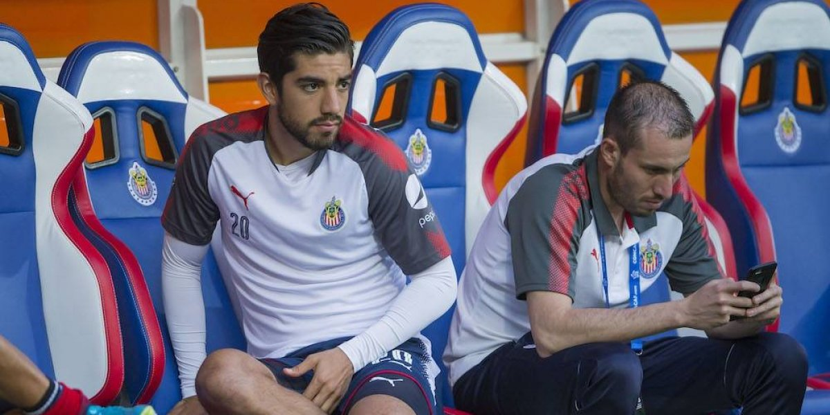 Rodolfo Pizarro responde a Oswaldo Sánchez: 'Es muy fácil hablar'