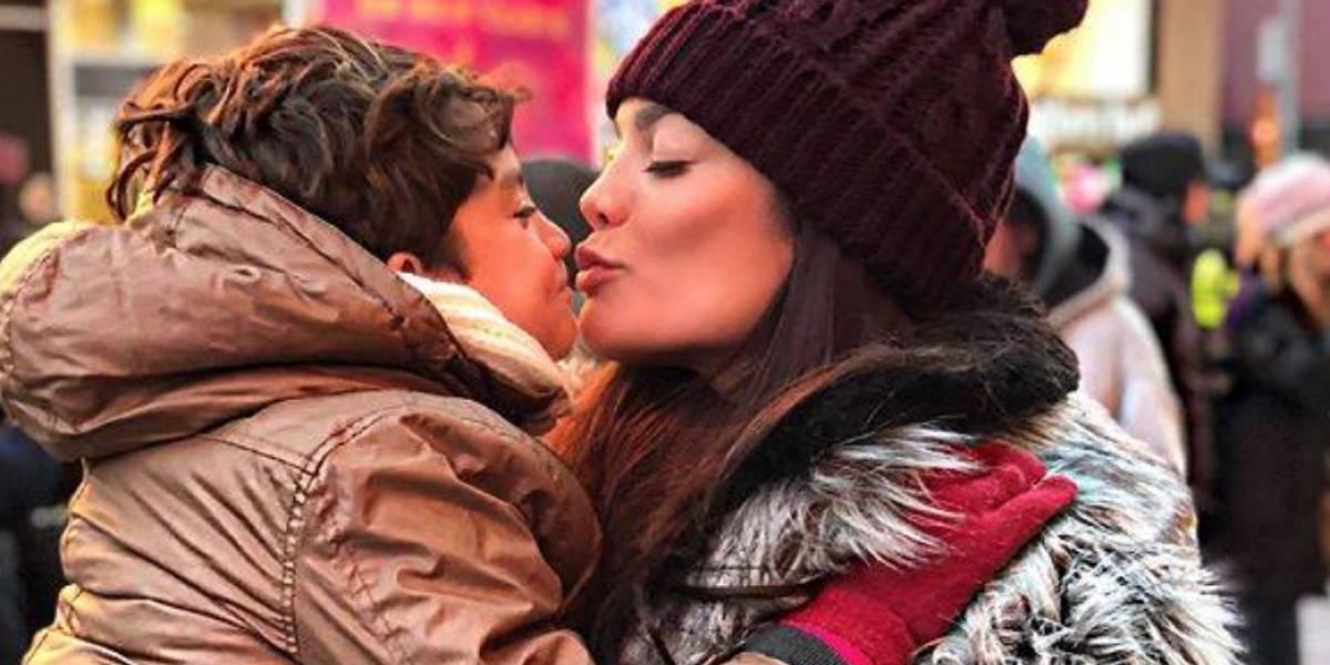 Zuleyka Rivera se pone melancólica con foto de Sebastián bebé
