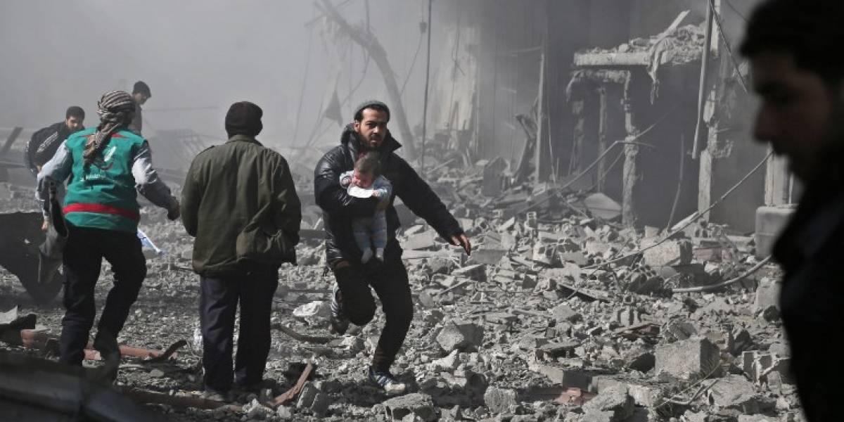 Siguen los bombardeos en Guta Oriental