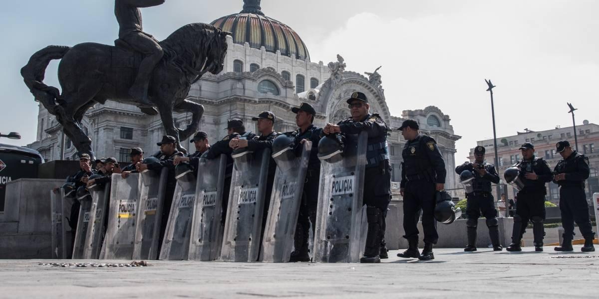 Marchas provocan cierres viales en la CDMX