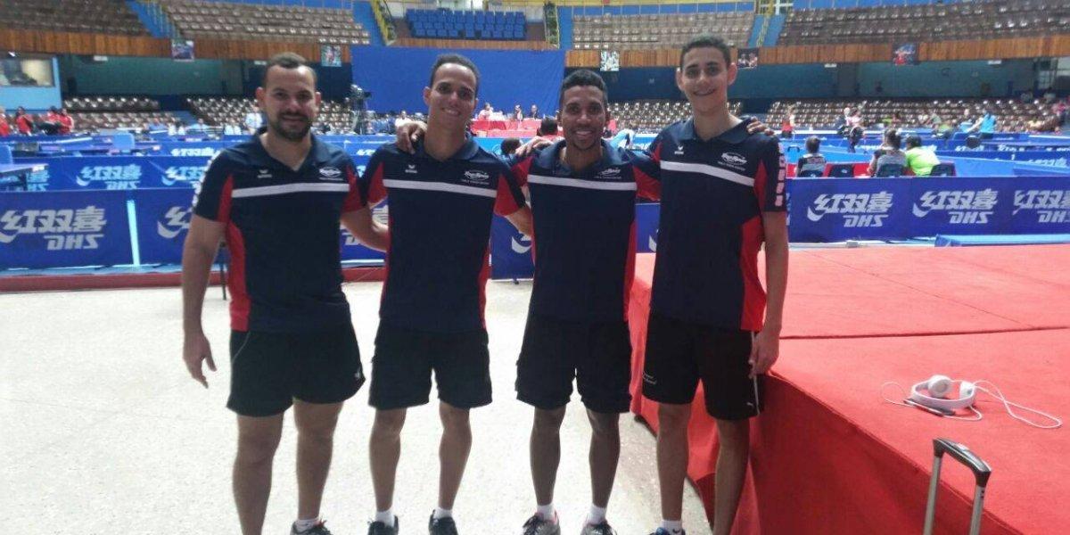 Tenis de Mesa. Equipo masculino de RD clasifica a los Juegos Centroamericanos
