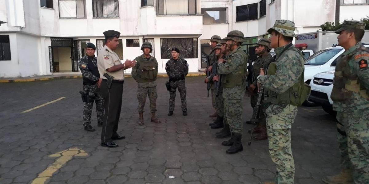 Ecuador: Policías y militares combaten a diario el crimen organizado en la frontera norte