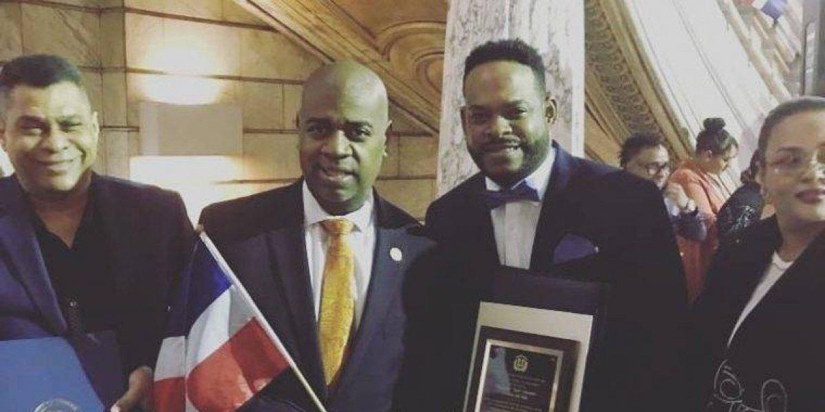 Yiyo Sarante fue reconocido en Newark