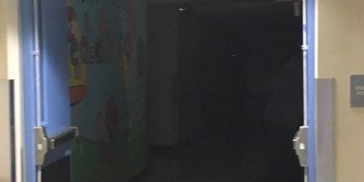 Sin luz el Hospital Pediátrico de Centro Médico