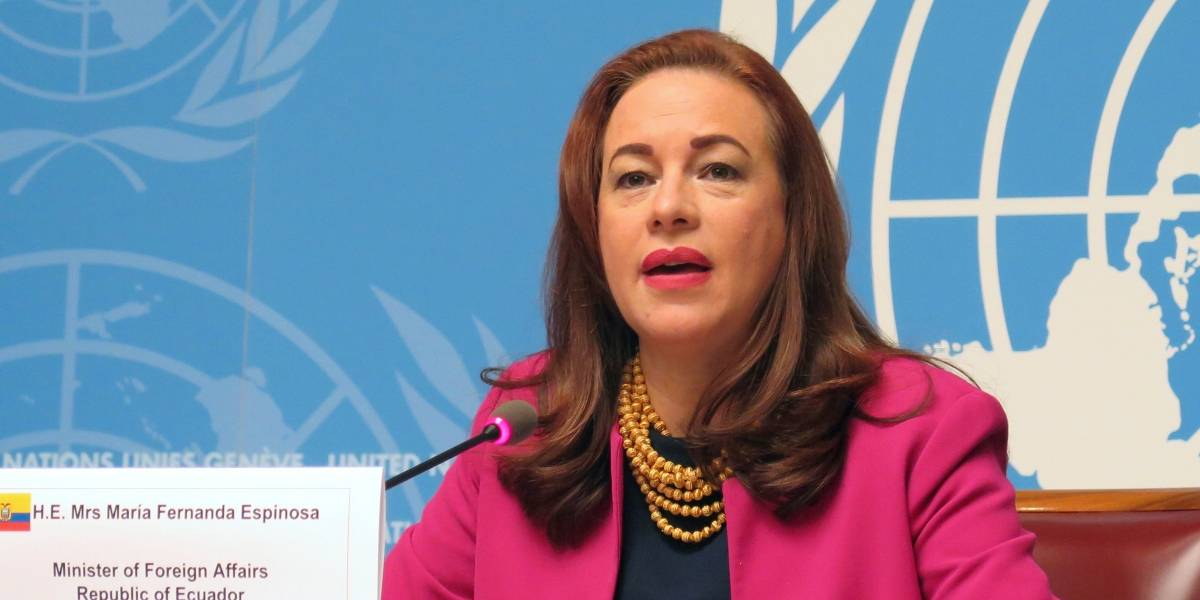 Ecuador ratifica su candidatura a Asamblea de ONU pese a protesta de Honduras