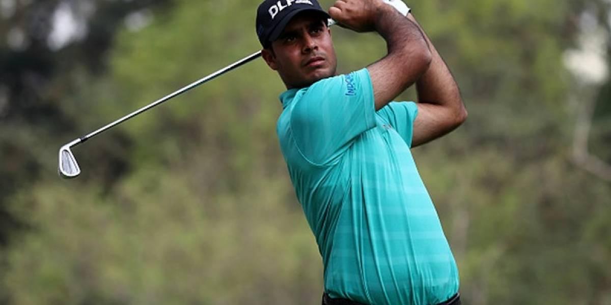 Golfista indio lidera el Campeonato Mexicano de golf