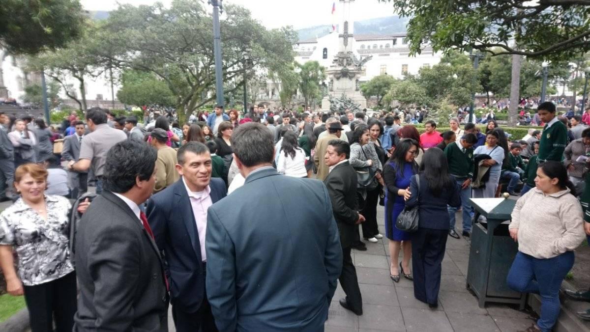 Amenaza de bomba en edificio de la Alcaldía de Quito