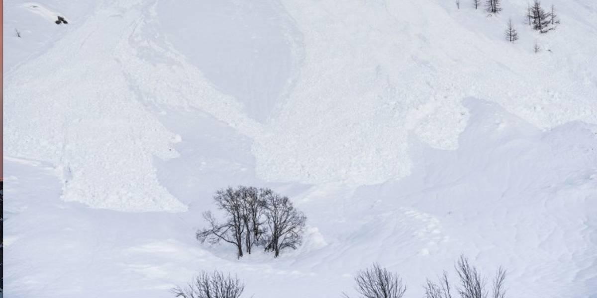Cuatro muertos en una avalancha en Alpes franceses