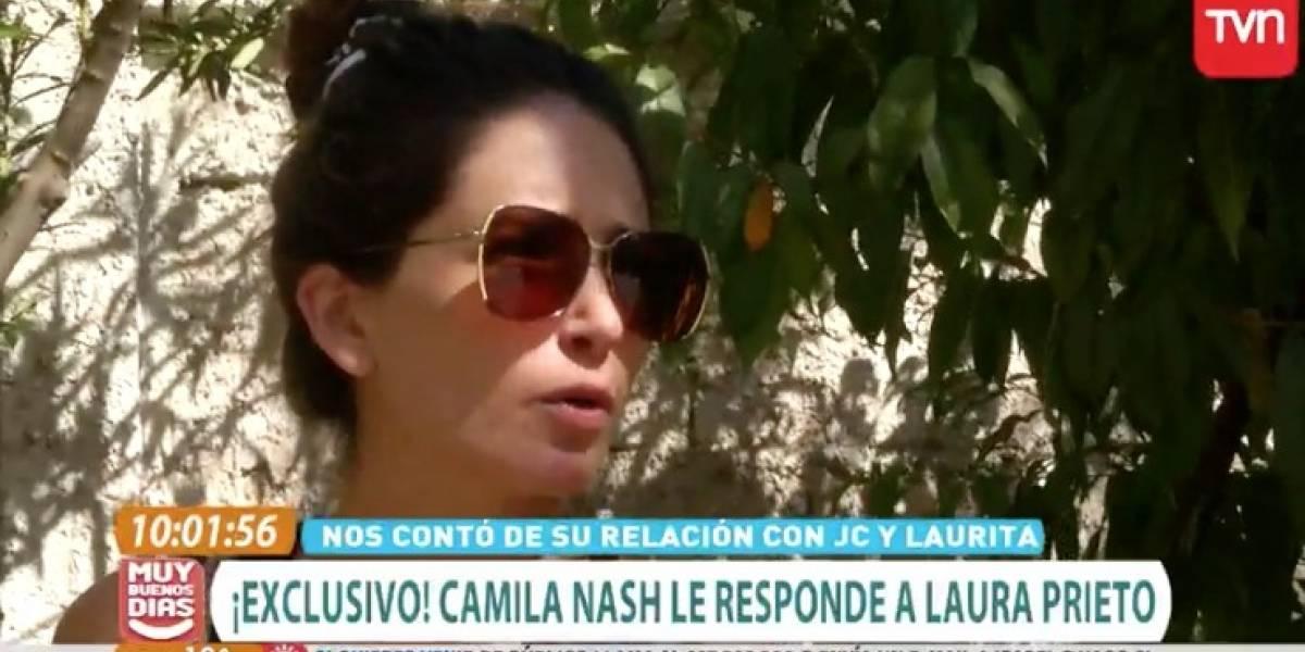 """""""Entiendo que esto es un show y cada uno ve cómo lo juega"""": Camila Nash le respondió a ex de Julio César Rodríguez"""