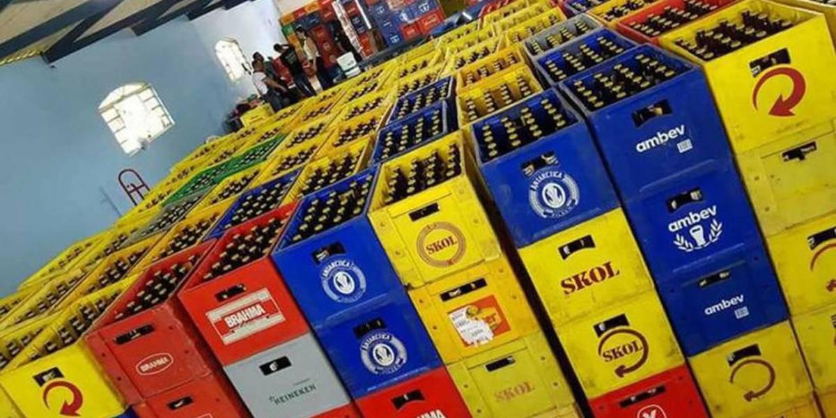 Quadrilha é acusada de alterar rótulos de cerveja em Minas Gerais