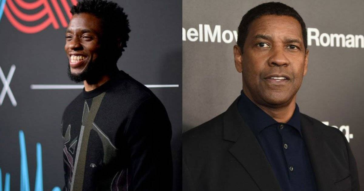 Chadwick Boseman Denzel Washington