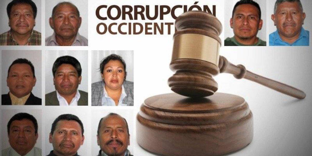 Corrupción en Occidente: Tres exalcaldes y 12 más fueron enviados a juicio