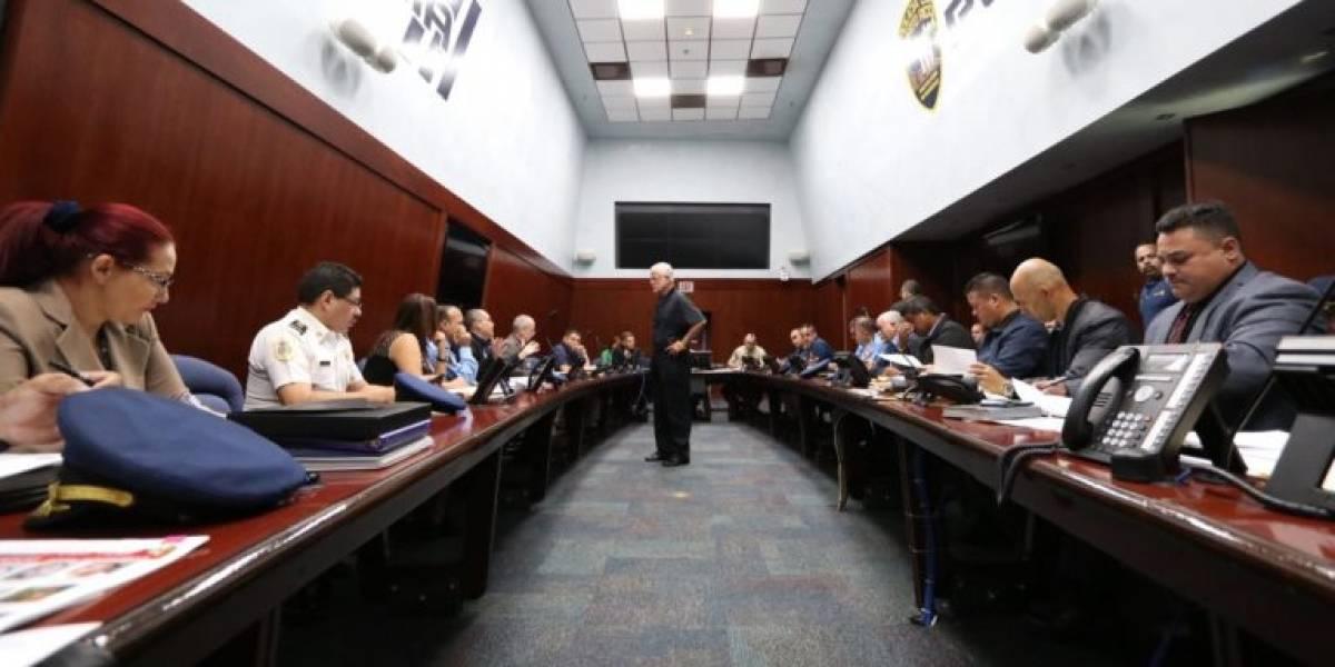 Pesquera sostiene reunión con comisionado interino de la Policía