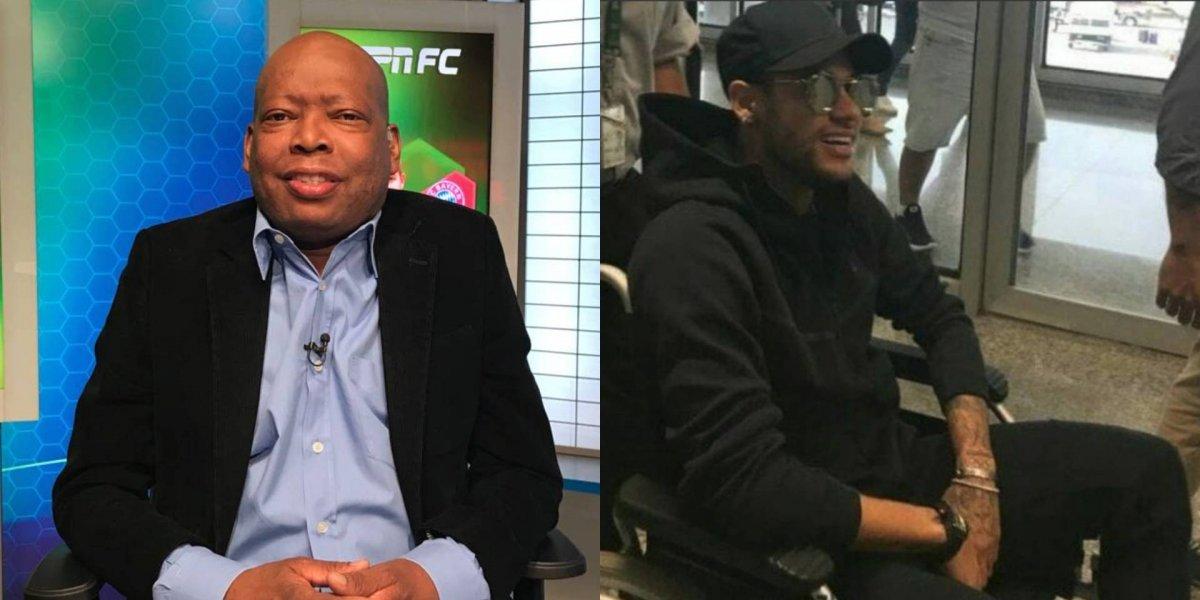 Faustino Asprilla envió un mensaje sobre la recuperación de Neymar