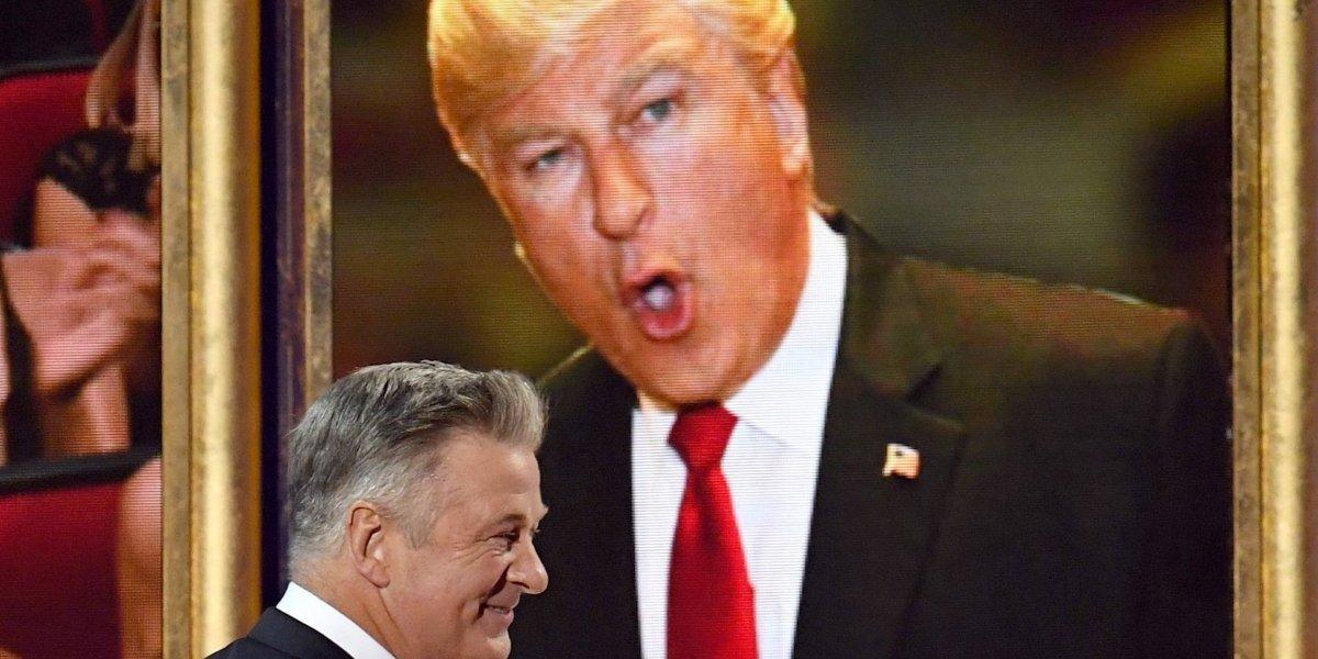 Trump despotrica contra 'Alex Baldwin' por imitarlo; aunque se equivoca en su nombre