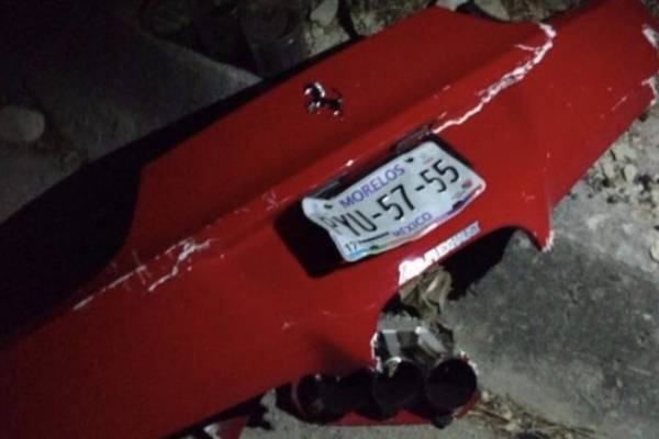 Ferrari accidente en México