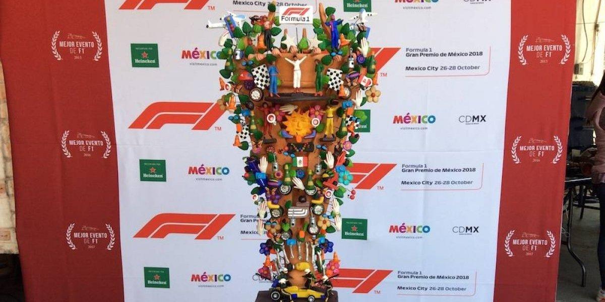 Póster oficial del Gran Premio de México de F1 cobró vida