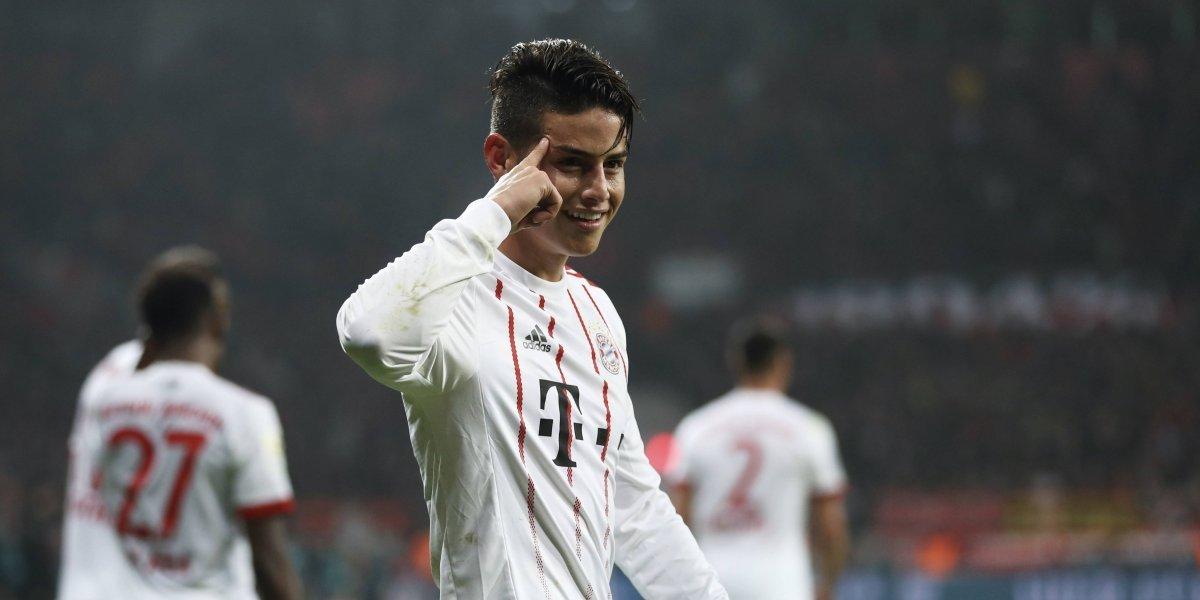 James no reaparecerá con el Bayern ante el Hamburgo, dice Heynckes