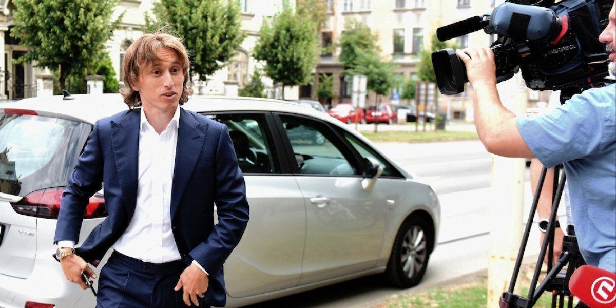 Estrella del Real Madrid, Luka Modrić, es acusado de falso testimonio en caso de corrupción