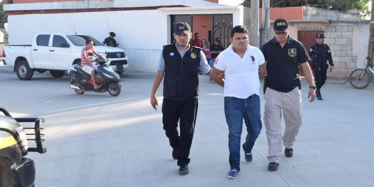 Capturan en Zacapa a señalado de asesinar a un periodista