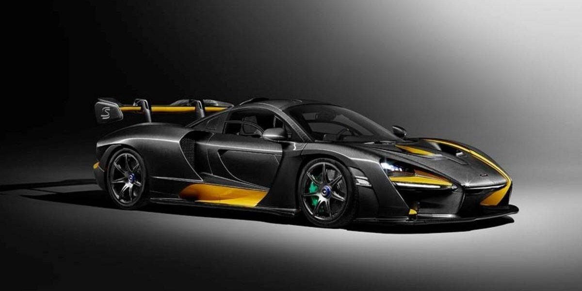 Senna MSO Carbon Theme, la apuesta de McLaren en Ginebra