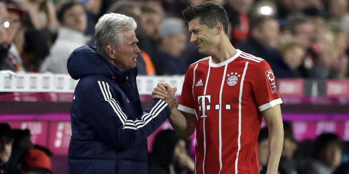Heynckes advierte a Lewandowski ante posible traspaso al Real Madrid