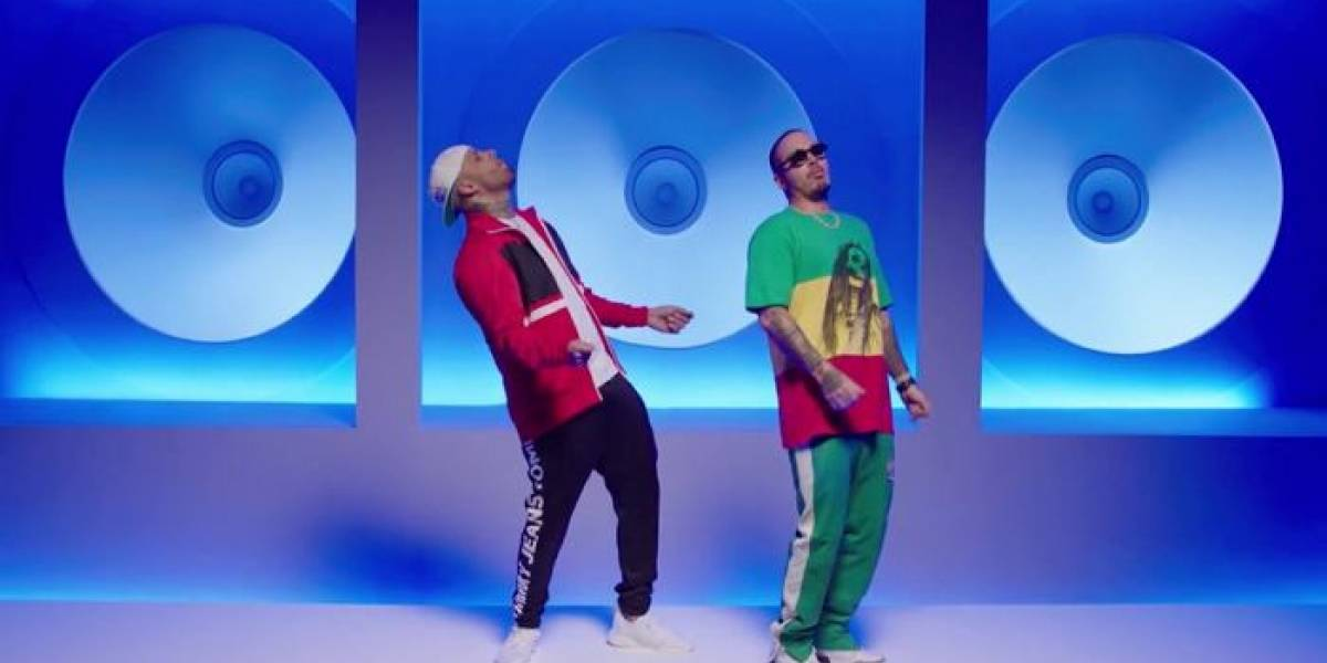 Nicky Jam y J Balvin estrenan video de X (Equis)