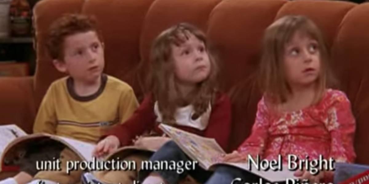 Así han crecido los trillizos de Phoebe en 'Friends'