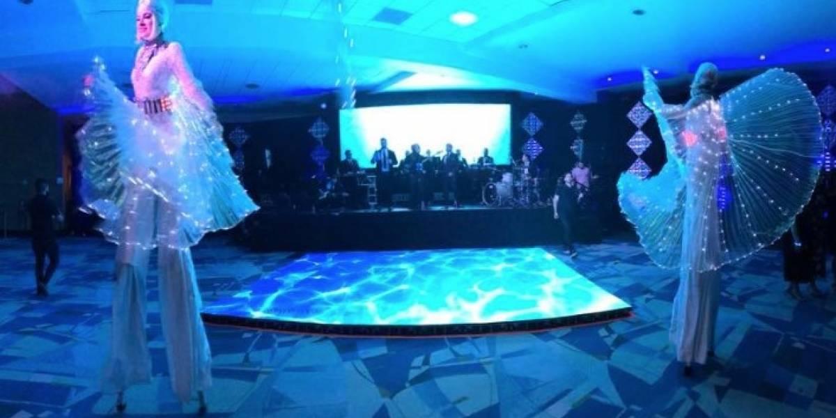 Centro de Convenciones se transforma en un moderno lounge