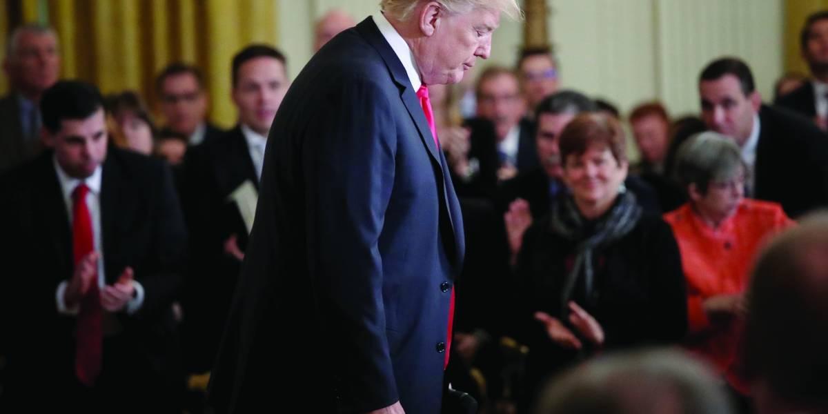 El estilo de gestión  de Trump: caótica
