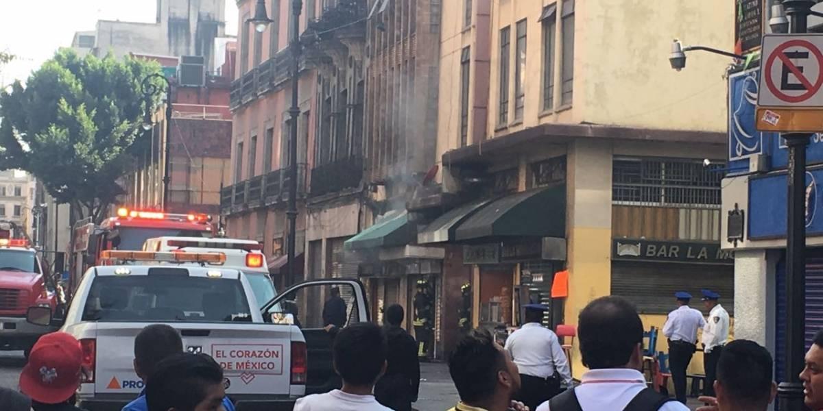 Reportan conato de incendio en la calle Palma del Centro Histórico
