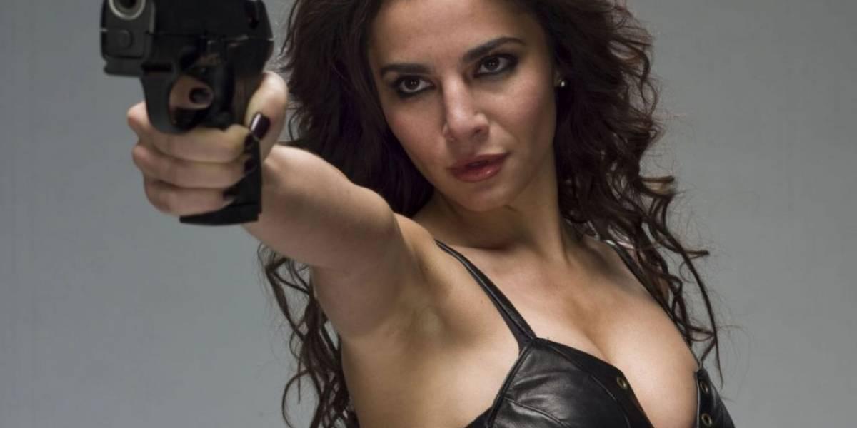 Un reto, escenas de acción en serie 'Altered Carbon': Martha Higareda