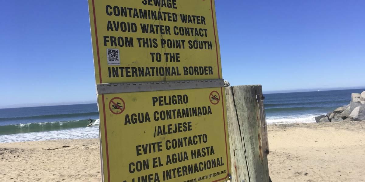 California intenta frenar aguas residuales mexicanas
